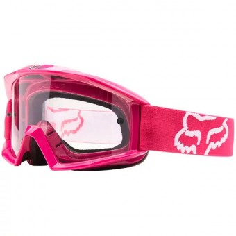 Masque Cross FOX Main Pink Enfant 902