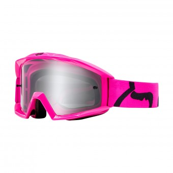 Masque Cross FOX Main Race Rose Enfant