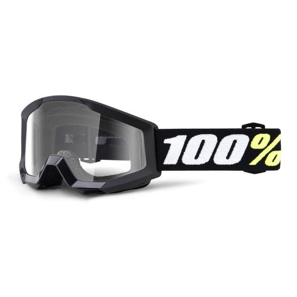 Masque Cross 100% Strata Mini Black