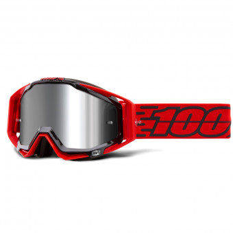 Masque Cross 100% Racecraft Plus Toro Mirror Silver Lens