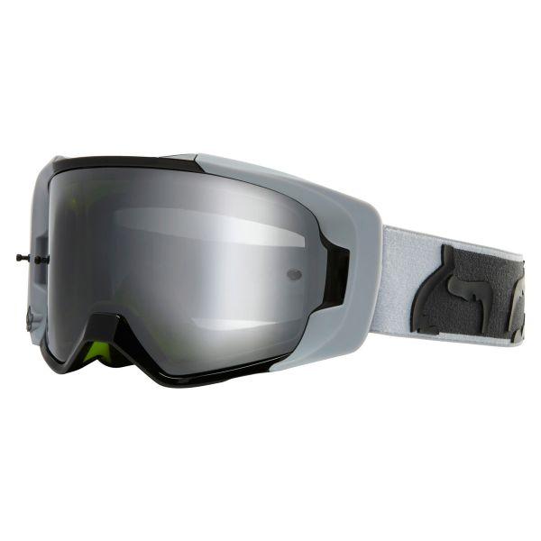 Masque Cross FOX Vue Dusc Light Grey Chrome Mirror Lens