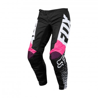 Pantalon Cross FOX 180 Girls Black Pink Pant 285
