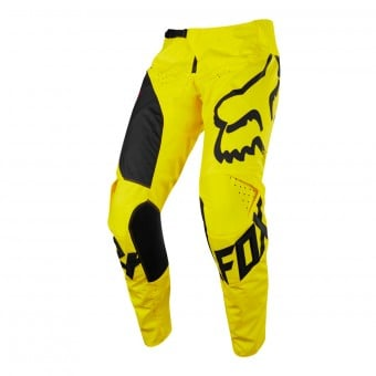 Pantalon Cross FOX 180 Mastar Yellow Pant Enfant 005