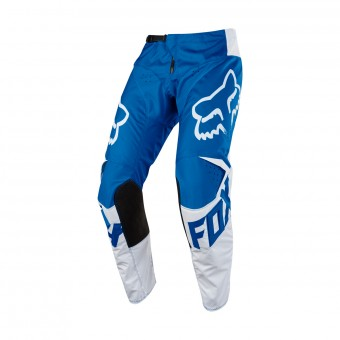 Pantalon Cross FOX 180 Race Blue White Pant 002