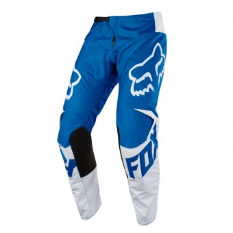 Pantalon Cross FOX 180 Race Blue White Pant Enfant 002