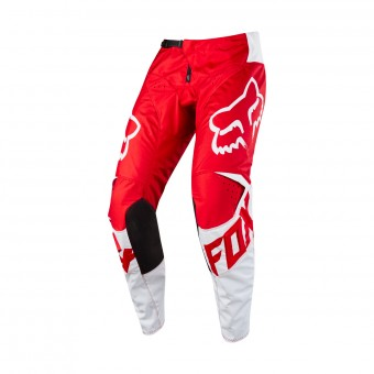 Pantalon Cross FOX 180 Race Red White Pant 002