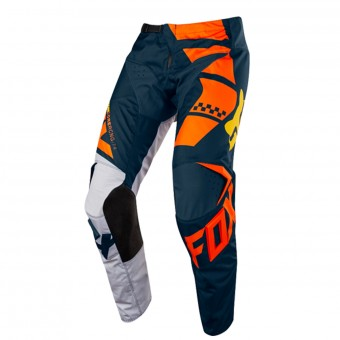 Pantalon Cross FOX 180 Sayak Orange Pant Enfant 009