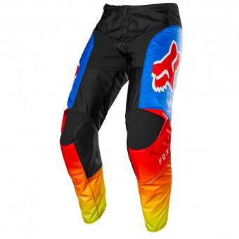 Pantalon Cross FOX 180 Fyce Blue Red Pant Enfant