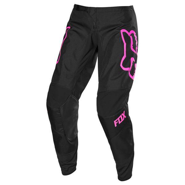 Pantalon Cross FOX 180 Prix Girls Black Pink Pant