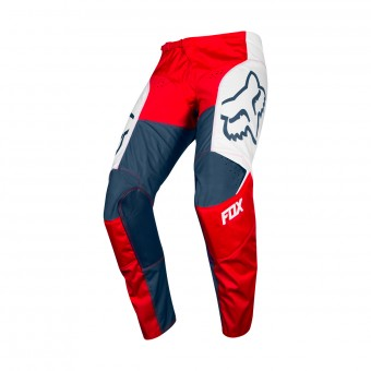 Pantalon Cross FOX 180 Przm Navy Red Pant