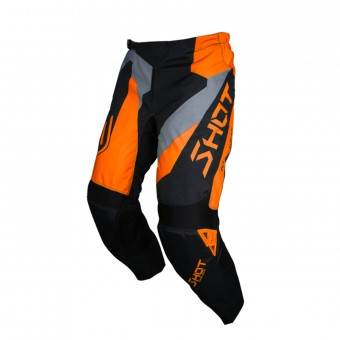 Pantalon Cross SHOT Devo Alert Neon Orange Pant