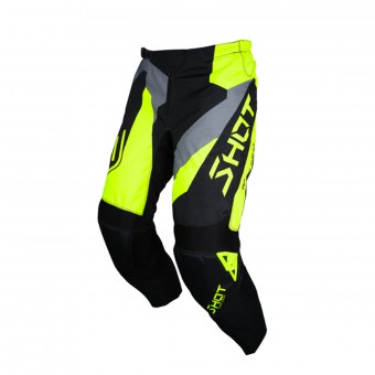 Pantalon Cross SHOT Devo Alert Neon Yellow Pant