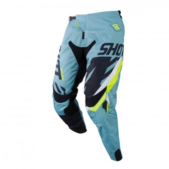 Pantalon Cross SHOT Contact Score Kaki Neon Jaune Pant