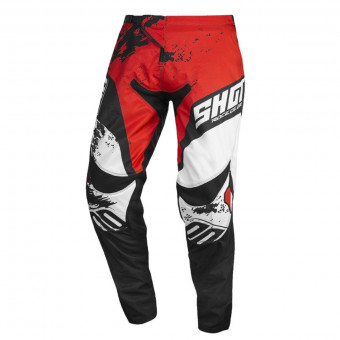 Pantalon Cross SHOT Contact Shadow Red White Pant