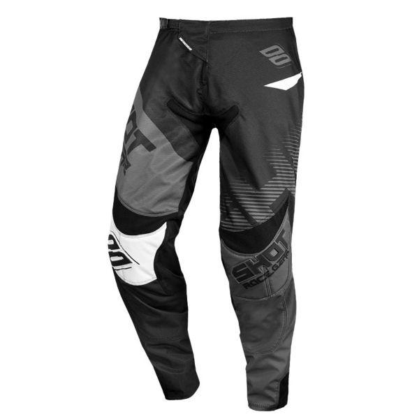 Pantalon Cross SHOT Contact Trust Dark Grey Black Pant