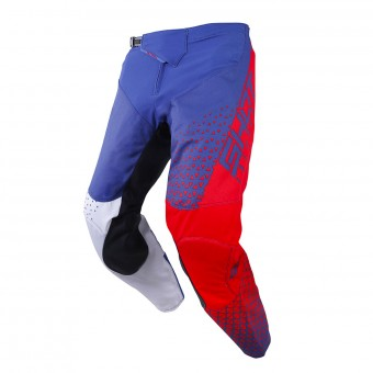 Pantalon Cross SHOT Delta Bleu Rouge Pant