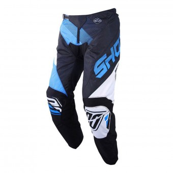 Pantalon Cross SHOT Devo Ultimate Noir Cyan Pant Enfant
