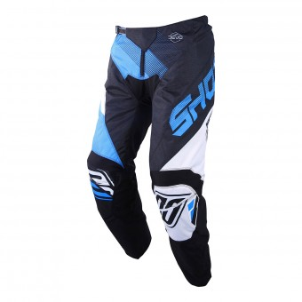 Pantalon Cross SHOT Devo Ultimate Noir Cyan Pant