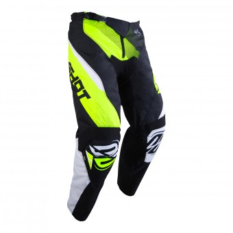 Pantalon Cross SHOT Devo Ultimate Noir Neon Jaune Pant Enfant