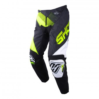 Pantalon Cross SHOT Devo Ultimate Noir Neon Jaune Pant