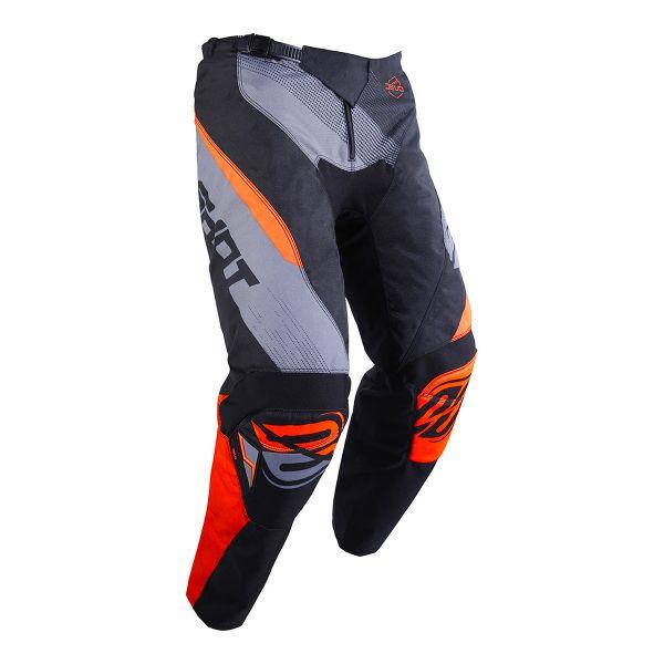 SHOT Devo Ultimate Noir Neon Orange Pant