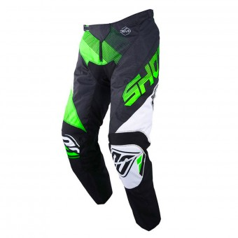 Pantalon Cross SHOT Devo Ultimate Noir Neon Vert Pant Enfant