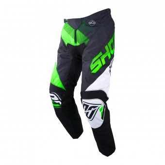 Pantalon Cross SHOT Devo Ultimate Noir Neon Vert Pant