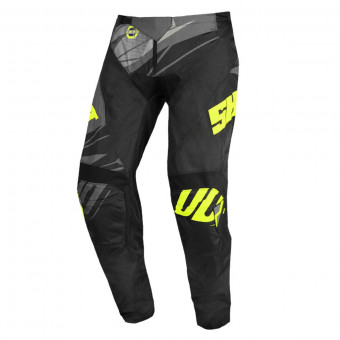 Pantalon Cross SHOT Devo Ventury Dark Grey Neon Yellow Pant Kid