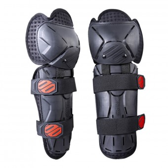 Genouilleres Cross SHOT Optimal Knee Black Red Enfant