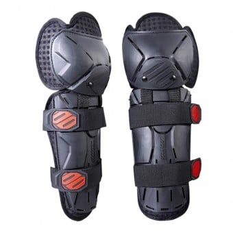 Genouilleres Cross SHOT Optimal Knee Black Red