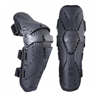 Genouilleres Cross SHOT Protector Knee Black Red Enfant
