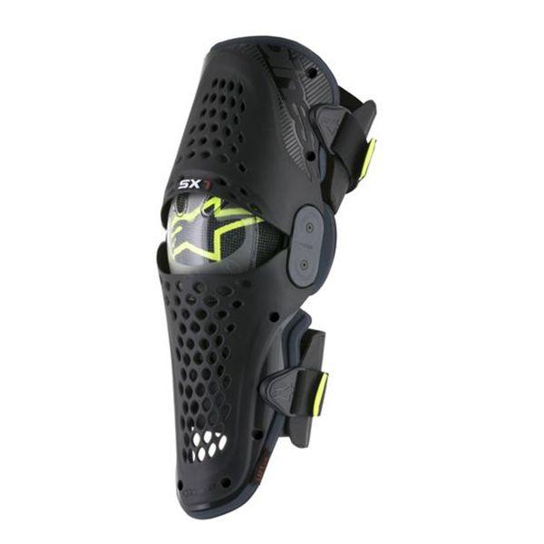 Genouilleres Cross Alpinestars SX 1 Knee Black Anthracite