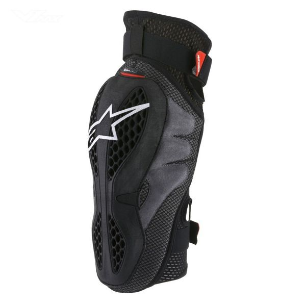 Genouilleres Cross Alpinestars Sequence Knee Black Red