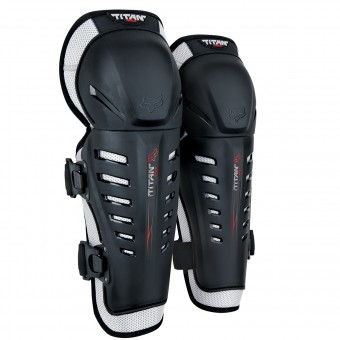 Genouilleres Cross FOX Titan Race Knee Black