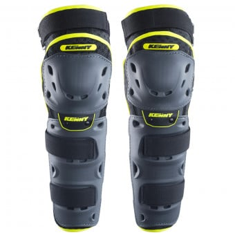 Genouilleres Cross Kenny Knee Guards Neon Yellow Black