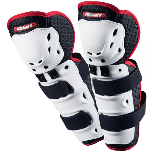 Genouilleres Cross Kenny Knee Guards White Enfant
