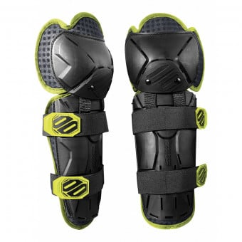 Genouilleres Cross SHOT Optimal Knee Black Yellow