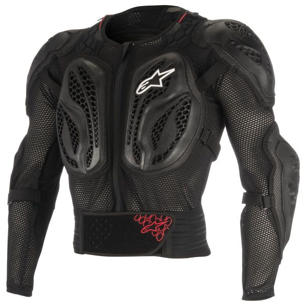 Pare pierre Alpinestars Youth Bionic Action Black Red