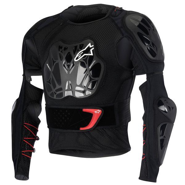 Pare pierre Alpinestars Bionic Jacket Black Red Enfant