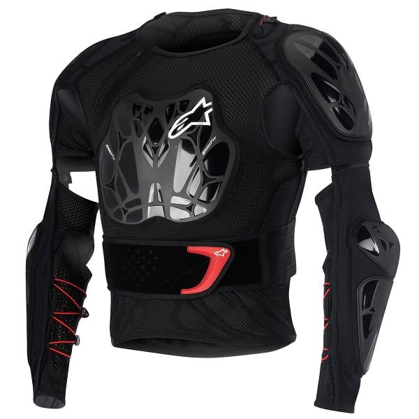 Pare pierre Alpinestars Bionic Tech Black Red