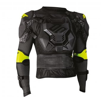 Gilet Cross SHOT Optimal 2.0 Black Yellow Fluo