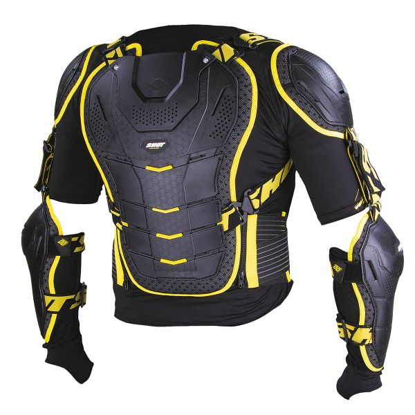 SHOT Interceptor Black Yellow