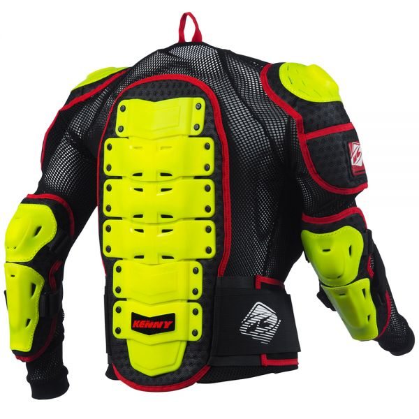 Kenny Performance Neon Yellow Red Enfant