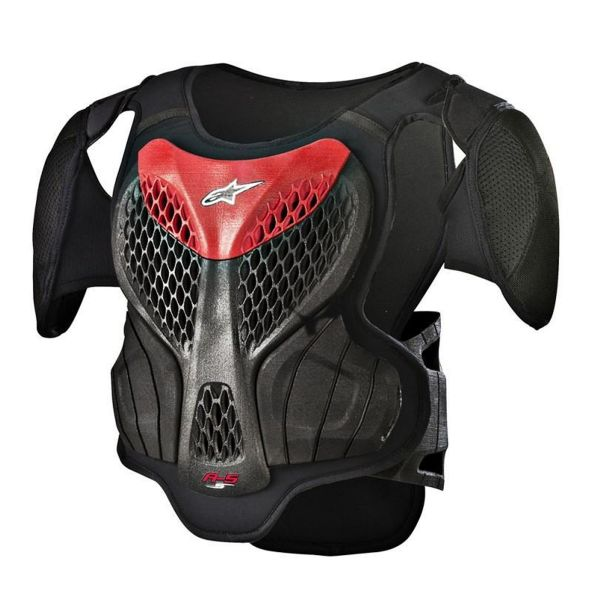 Pare pierre Alpinestars A-5 S Youth Body Armour Black Red