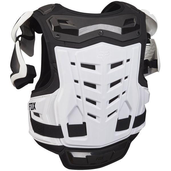 FOX Raptor Vest Black White 018