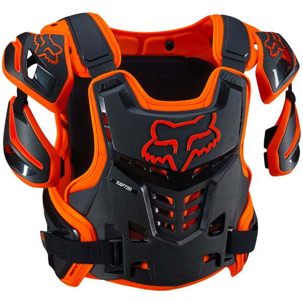 Pare pierre FOX Raptor Vest Orange 009