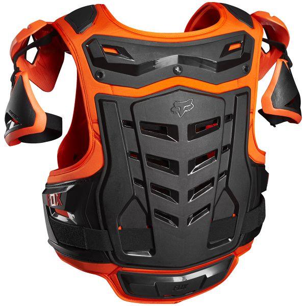 FOX Raptor Vest Orange 009