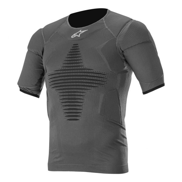 Maillot Froid Alpinestars Roost Base Layer Top Anthracite Black