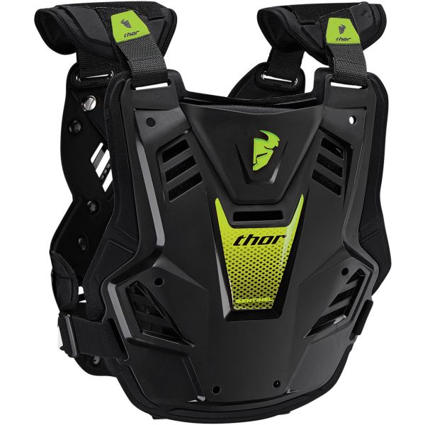 Thor Sentinel GP CE Black Green Enfant