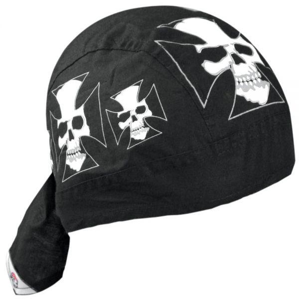 Bandanas Zanheadgear Flydanna Iron Cross Skull